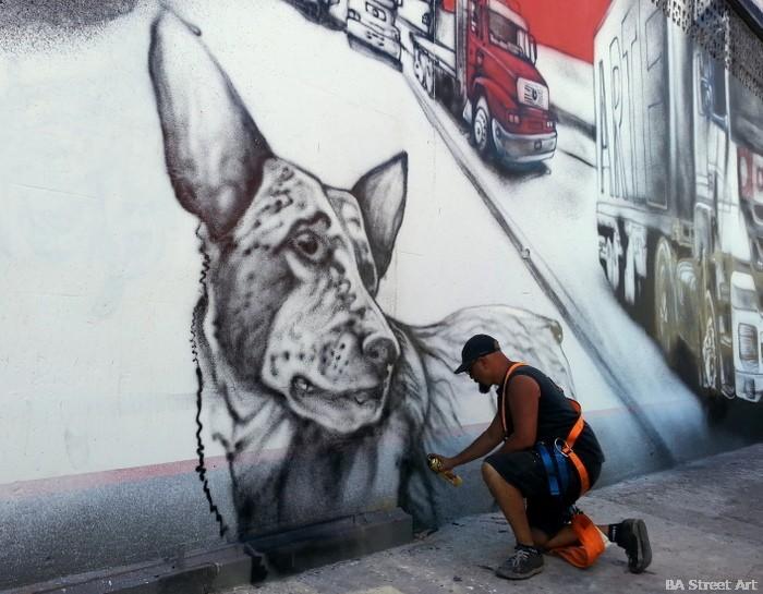 alfredo segatori pelado artist buenos aires arte urbano argentina