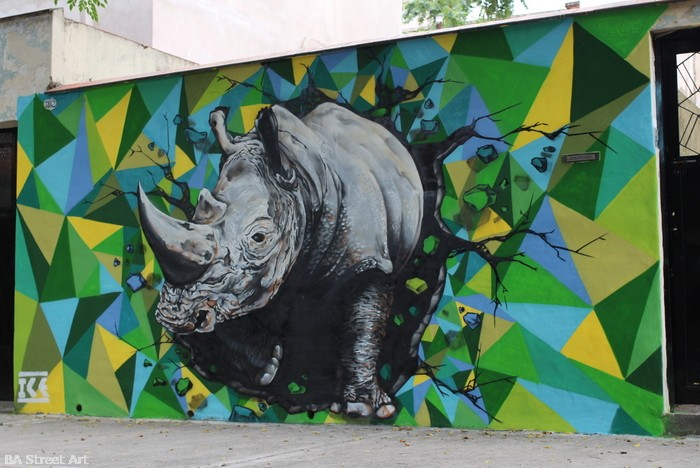 rhino graffiti argentina ice buenos aires street art buenosairesstreetart.com