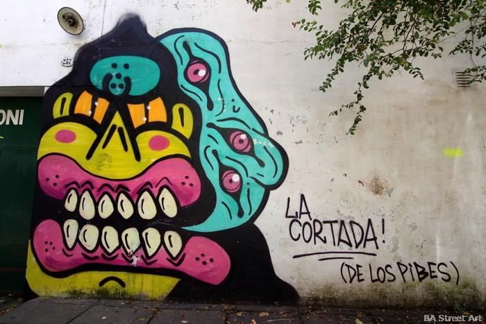 sweet toof street artist art callejero buenosairesstreetart.com palermo