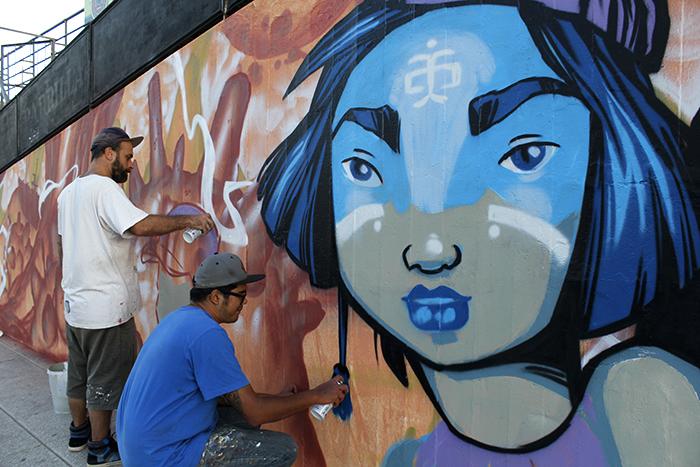 Lujan street art Cof Oz Montania encuentro de arte urbano buenosairesstreetart.com