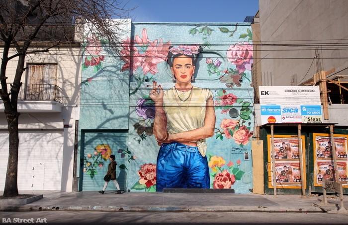 arte ba street art frida kahlo mural palermo graffiti tour city buenos aires buenosairesstreetart.com