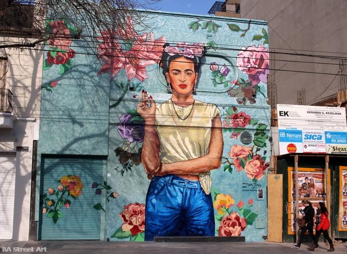bs as street art frida kahlo arte ba buenosairesstreetart.com