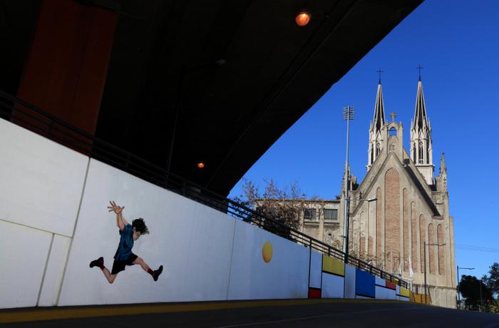 constituction tunel buenos aires murales martin ron argentina