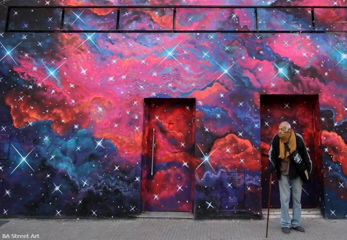 tekaz artista buenos aires graffiti arte urbano space monkey bar mural buenosairesstreetart.com