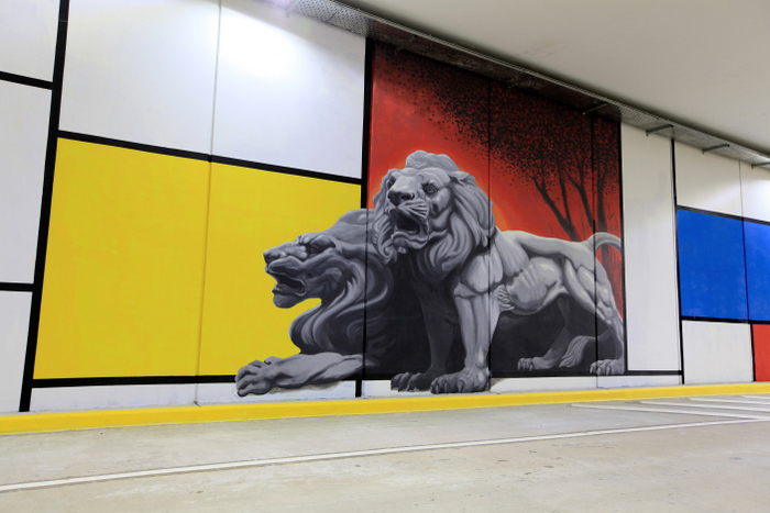 tunel mural buenos aires proyecto arte urbano buenos aires