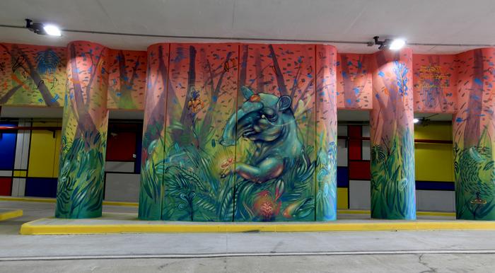 tunnel mural buenos aires constitucion graffiti argentina