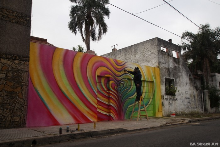 color art buenos aires murales alfredo segatori arte urbano argentina