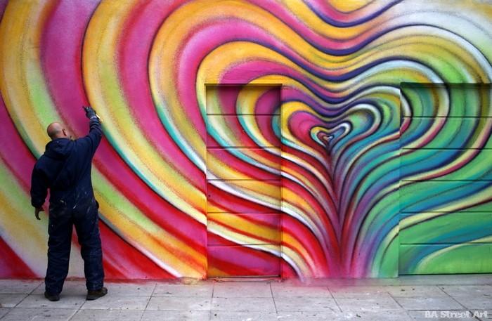 alfredo segatori artist argentina pelado graffiti corazon palpitante buenosairesstreetart.com