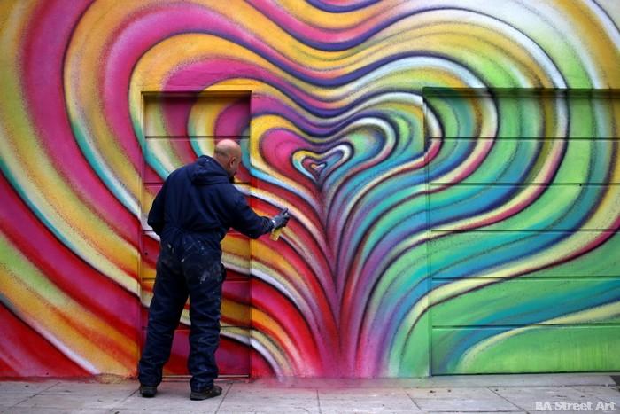 alfredo segatori artista murales buenos aires proyecto distrito de arte urbano buenosairesstreetart.com