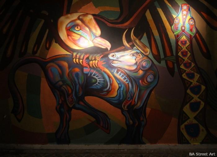 bs as murales quetzal palermo buenosairesstreetart.com guache