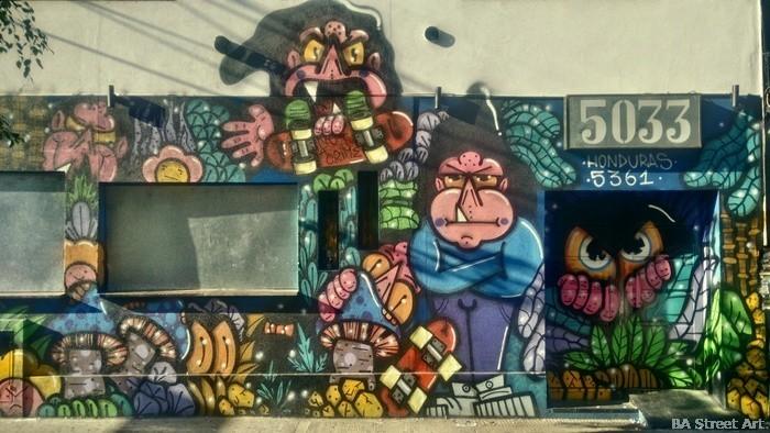 buenos aires graffiti palermo soho kika nightclub bar 5033 argentina perla buenosairestreetart.com