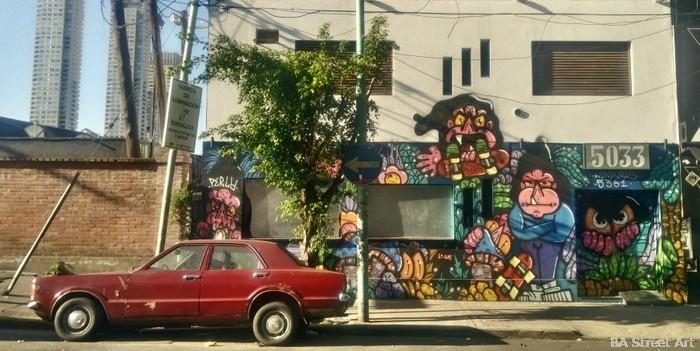 rosebar nightclub palermo soho buenos aires street art graffiti bar 5033 perla graff buenosairesstreetart.com