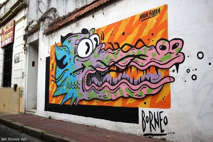 crocodile graffiti cocodrilo borneo buenos aires buenosairesstreetart.com