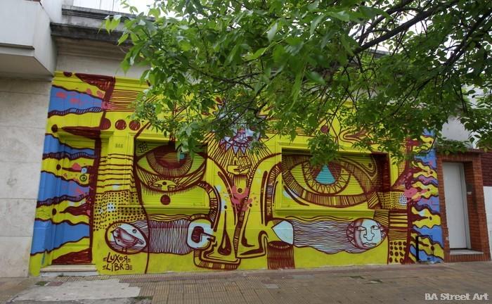 La Plata artista luxor buenos aires buenosairesstreetart.com