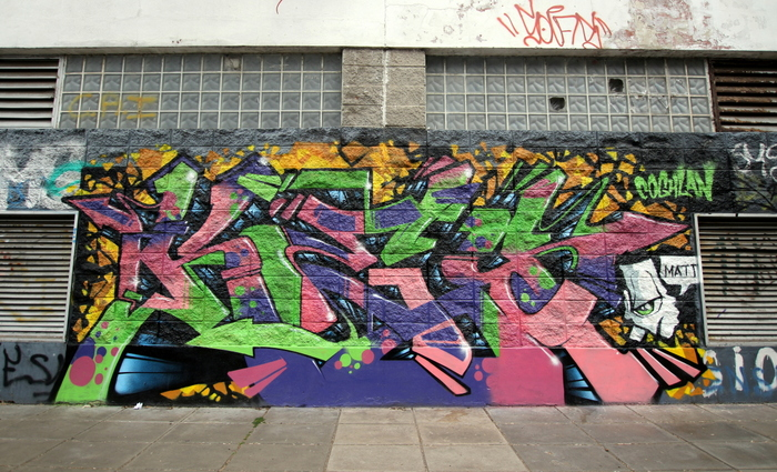 graffiti buenos aires BA Street Art kes buenosairesstreetart.com