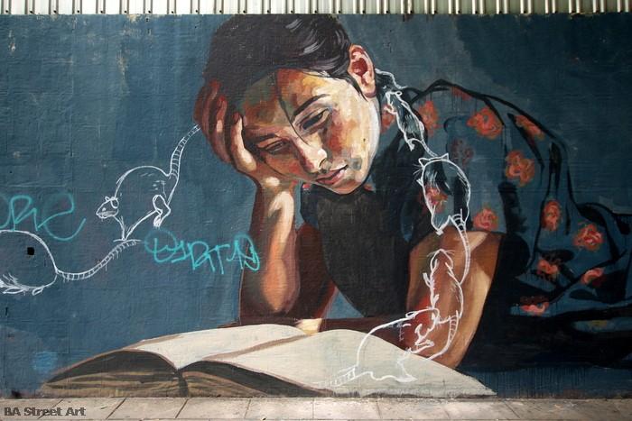 arte callejero buenos aires mural milu correch buenosairesstreetart.com