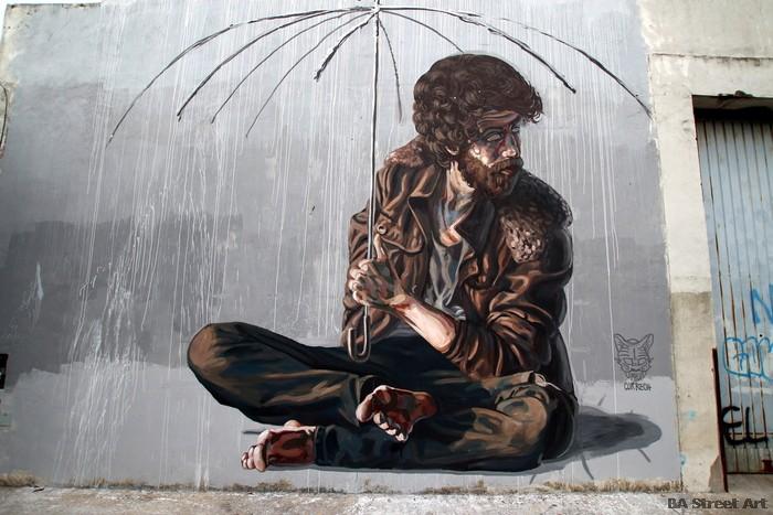 arte urbano murales baires argentina artista Milu Correch buenos aires BA Street Art buenosairesstreetart.com