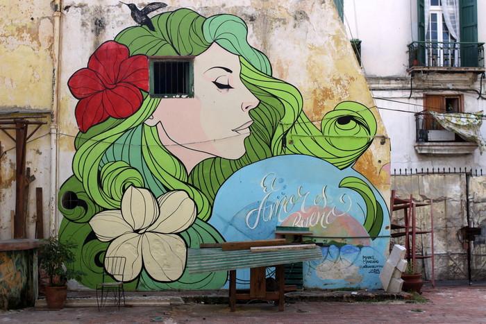 Mabel Manzano artista habana cuba mural buenosairesstreetart.com