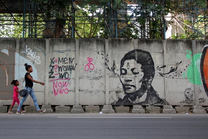 stinkfish street artist mural havana cuba buenosairesstreetart.com