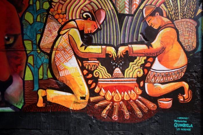 BA Street Art Dan Silva Marcelo Carpita mural Floresta Buenos Aires