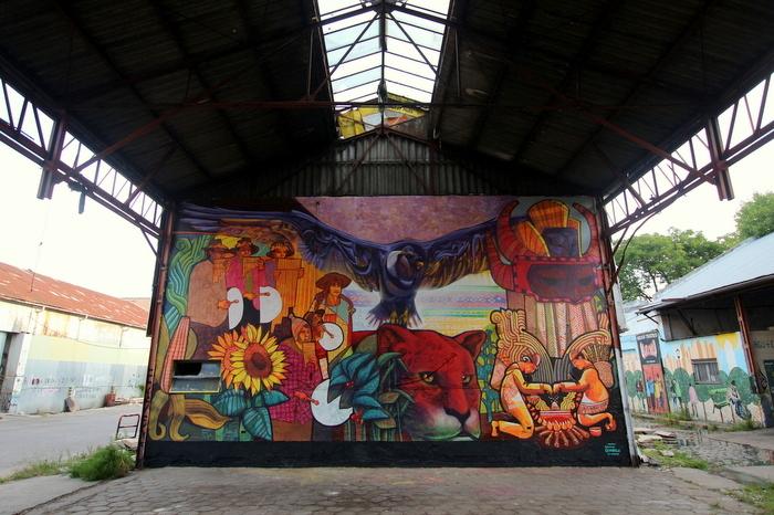 correlon de floresta mural marcelo carpita dan silva BA Street Art buenosairesstreetart.com