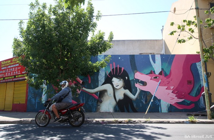 irene lavisita artista buenos aires murales buenosairesstreetart.com