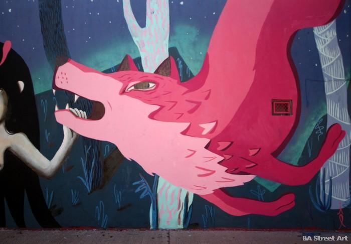 wolf street art buenos aires buenosairesstreetart.com