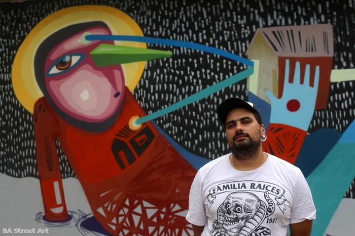 Luxor street artist argentina murales baires buenos aires street art buenosairesstreetart.com