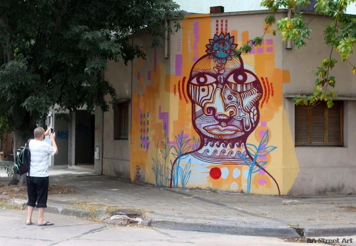 global street art argentina  buenos aires luxor graffiti baires buenosairesstreetart.com