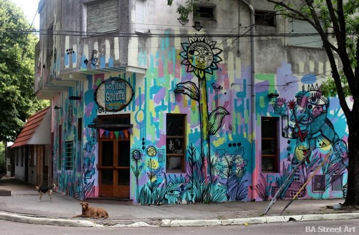 buenos aires murales argentina pizzeria la plata luxor buenosairesstreetart.com
