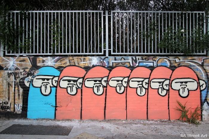 graffiti buenos aires colegiales argentina mojo monkey street art buenosairesstreetart.com