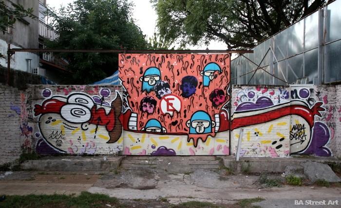 hot dog graffiti street art pancho buenos aires argentina arte urbano buenosairesstreetart.com