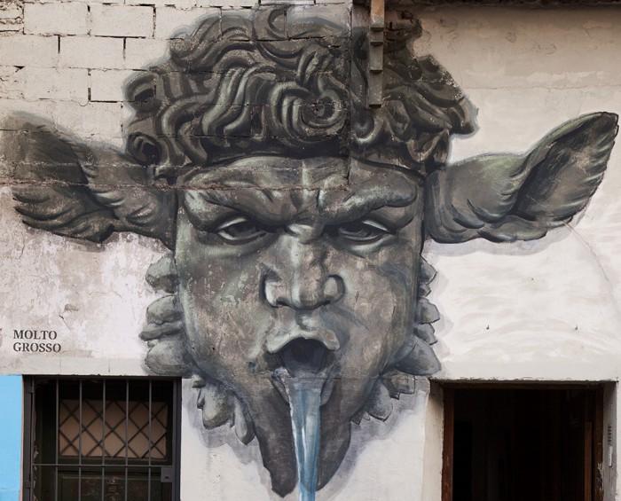 street art villa crespo buenos aires Molto Grosso artistas buenosairesstreetart.com