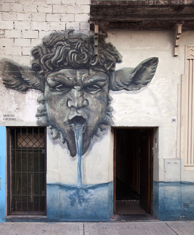 villa crespo fotos buenos aires arte callejero molto grosso buenosairesstreetart.com BA Street Art