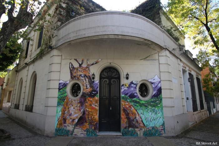stag mural art buenos aires arte urbano buenosairesstreetart.com