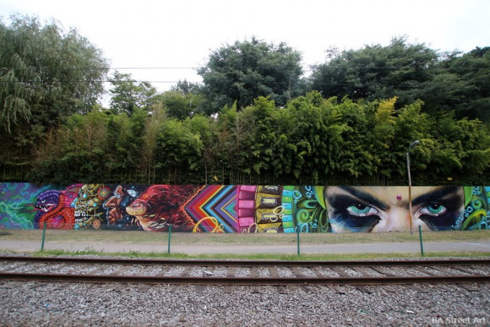 arte urbano argentina graffiti crew thg buenosairesstreetart.com