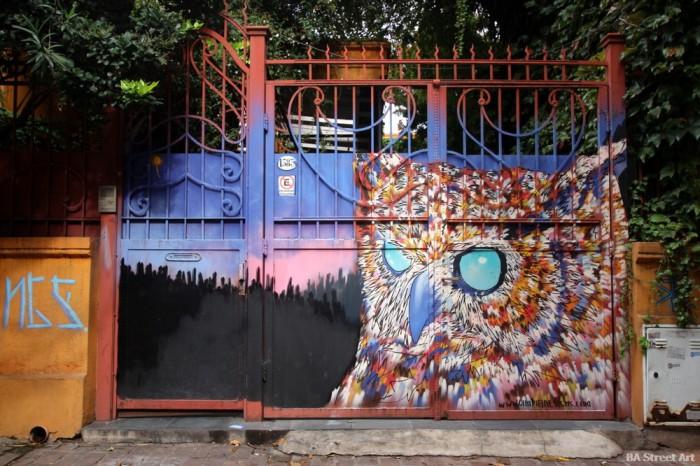 arte urbano lechuza owl buenos aires street art buenosairesstreetart.com
