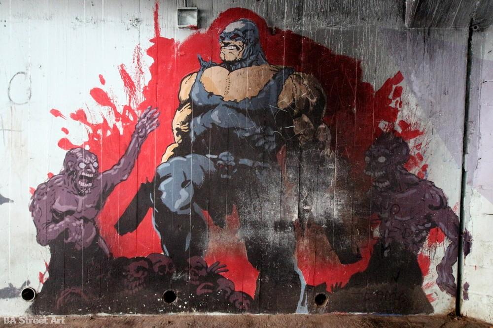 marvel comics graffiti buenos aires bs as street art buenosairesstreetart.com