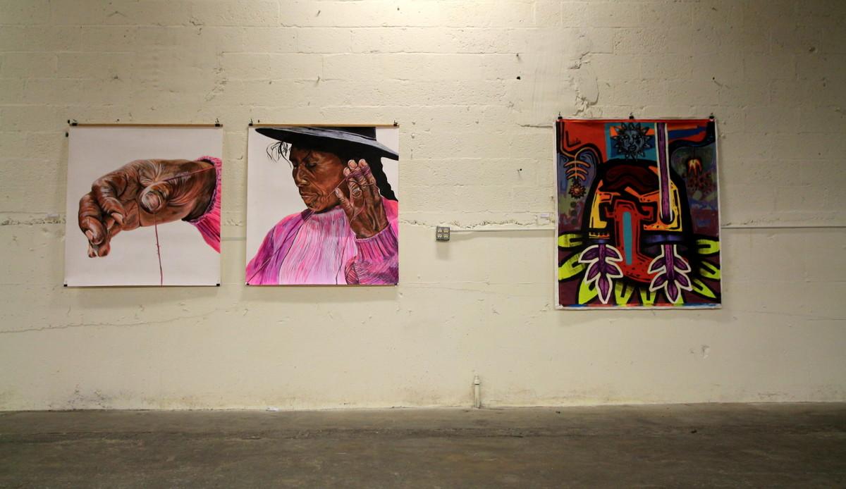 luxor artista show galeria muestra baltimore maryland argentine artist