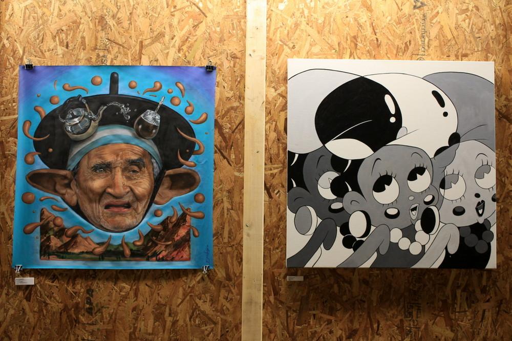 maxi bagnasco artista cuadros super waxx buenos aires street art buenosairesstreetart.com