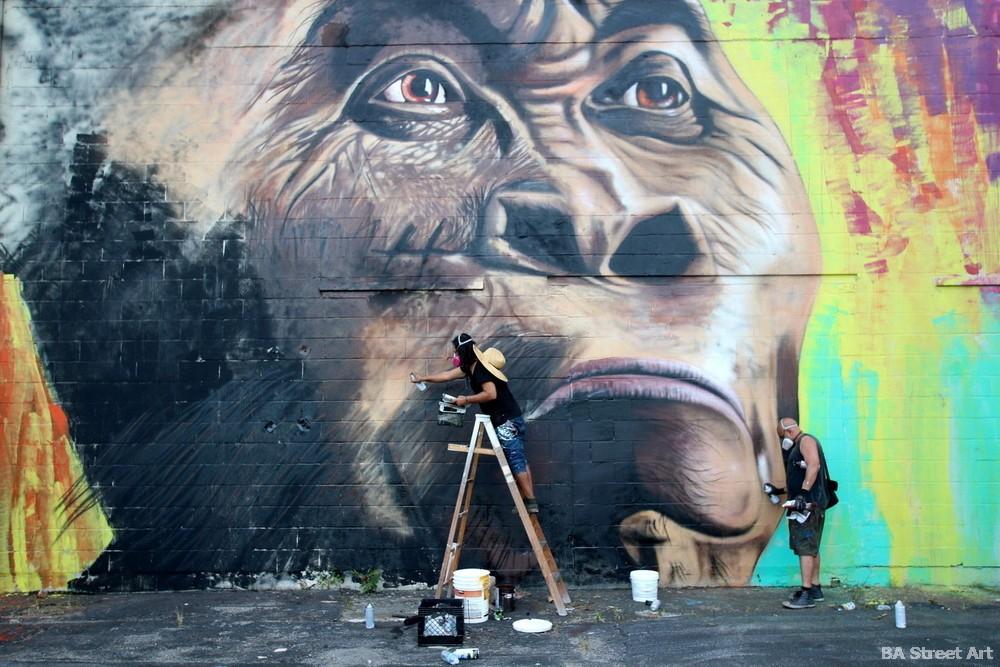 baltimore street art show buenos aires caveman mural alfredo segatori buenos aires street art buenosairesstreetart.com