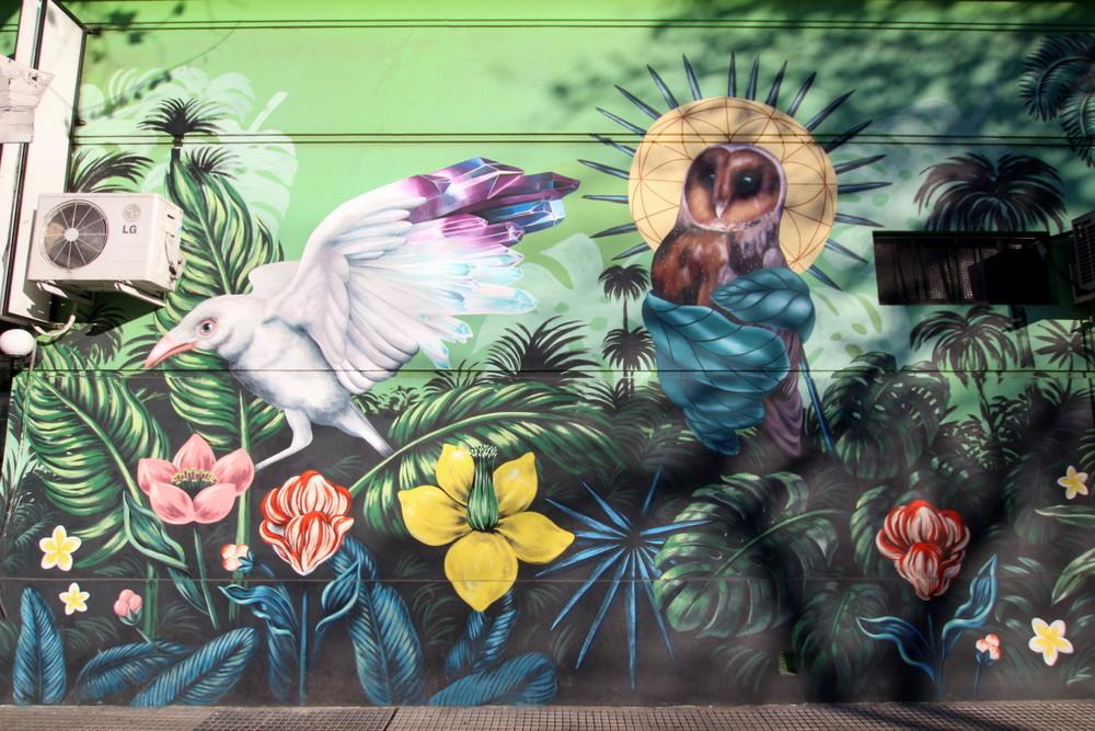 tropical paradise mural buenos aires buenosairesstreetart.com murales ba