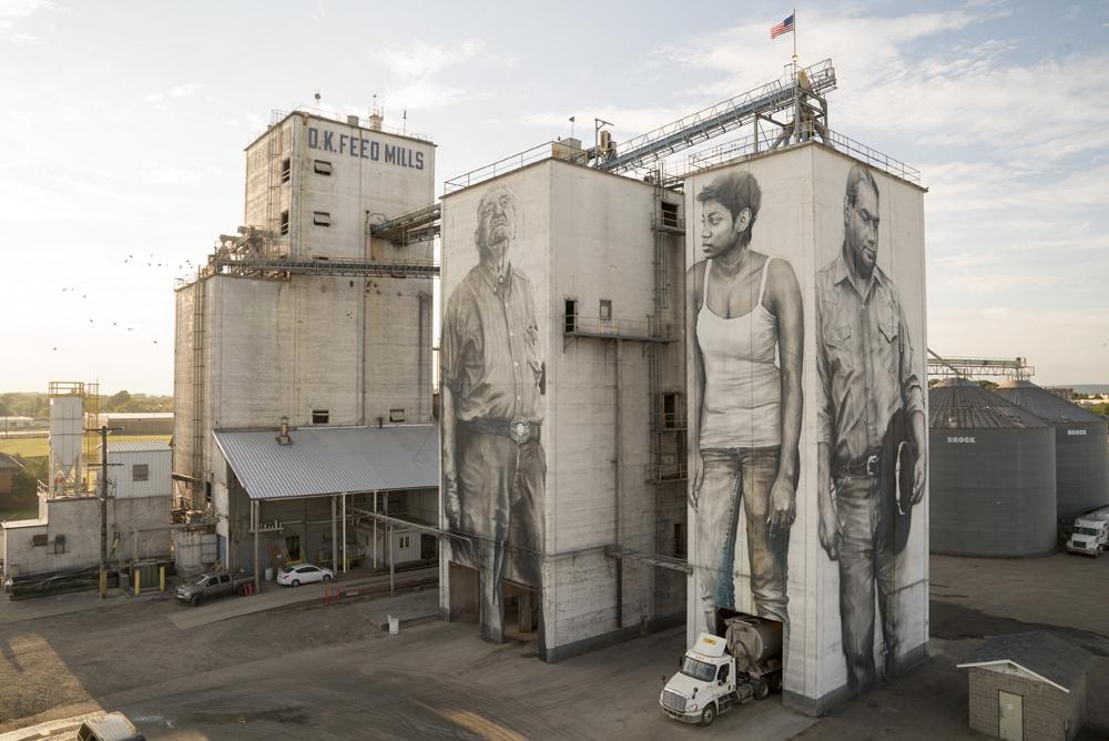 guido van helten street art mural artist arkansas
