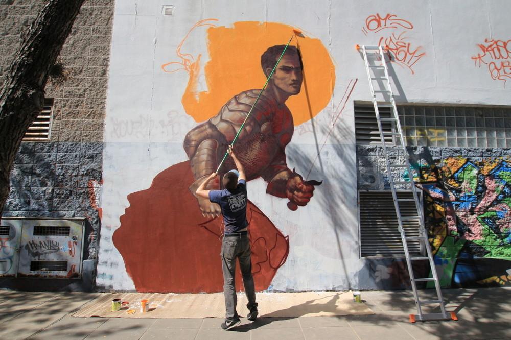 kiptoe mural artist buenos aires murals arte urbano proyectos ba street art buenosairesstreetart.com