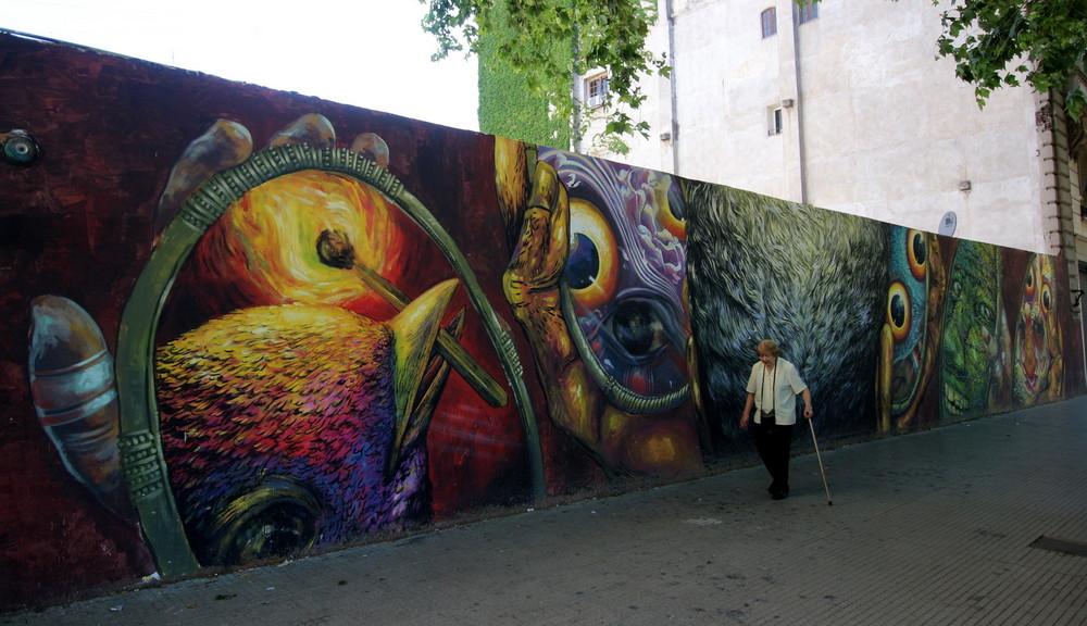 urbana artista bastardilla graffiti arte urbano buenosaires