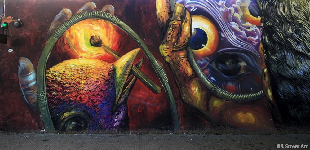 gleo bastardilla graffiti mural buenos aires street art buenosairesstreetart.com