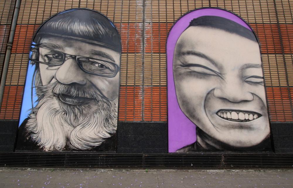 murales buenos aires retratos argentinos liniers carrefour argentina buenosairesstreetart.com