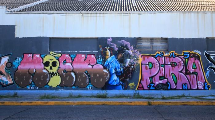 graffiti writers buenos aires argentina buenosairesstreetart.com