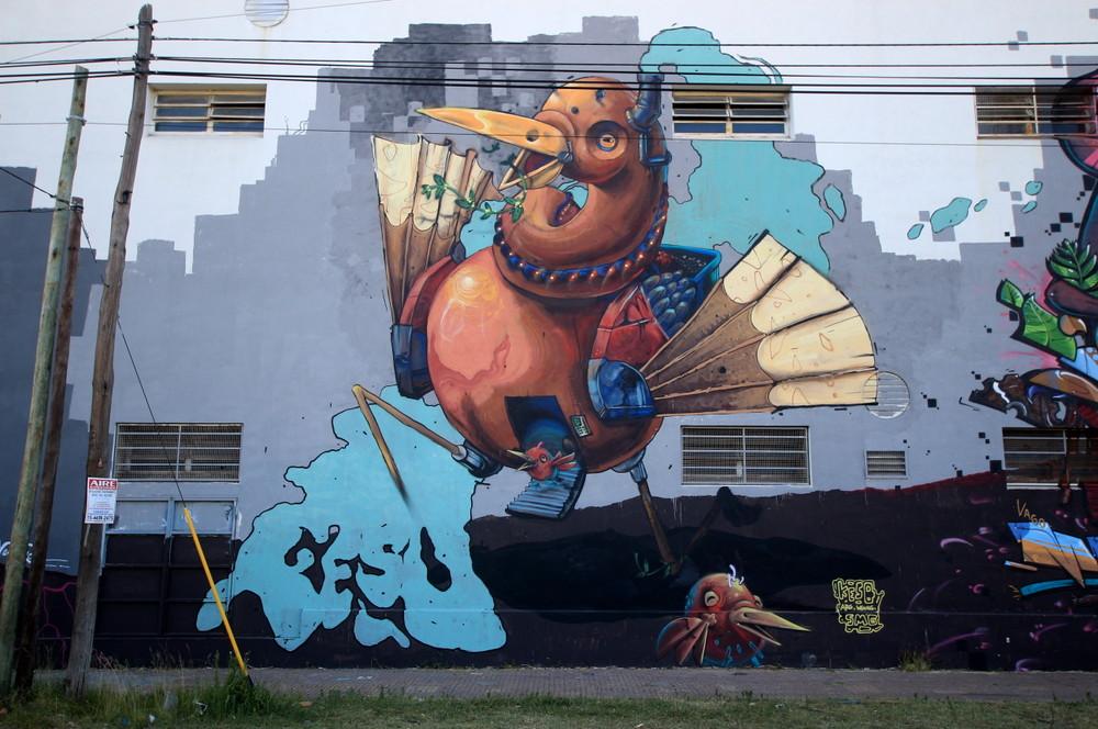 buenos aires grafiti pajaro argentina argentina graffiteros resu buenosairesstreetart.com