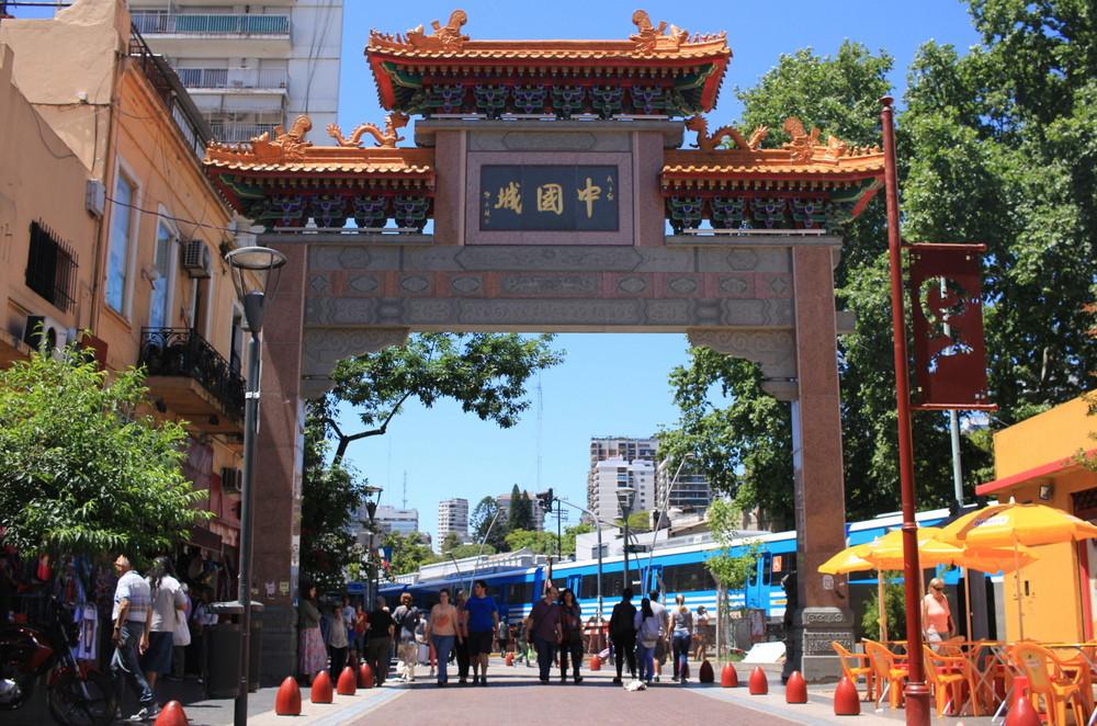 barrio chino arco belgrano arribeños buenos aires Miguel Angel Pita arquitecto simbolo entrada chinese arch buenosairesstreetart.com